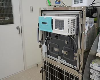 重症の動物を管理するためのICU装置